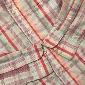 859f98e4623 Pierre Balmain Shirts - BALMAIN Vintage Pastel Plaid Button down shirt S
